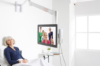 Barco's JAO Smart Terminals for interactive patient care