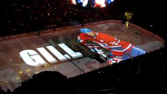 Centre Bell Montreal - Canadiens opening ceremony