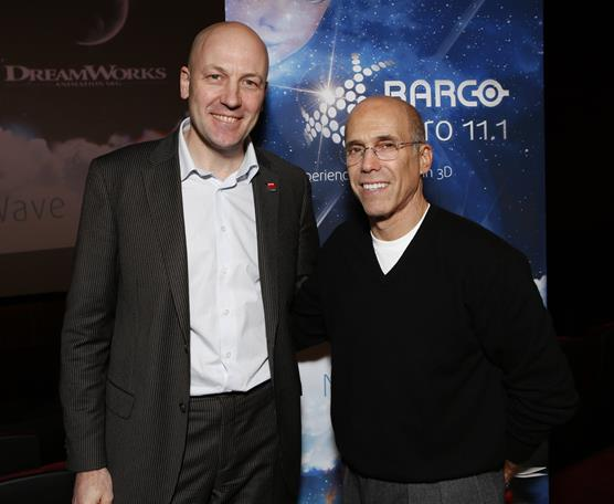 Barco - DreamWorks Animation press conference