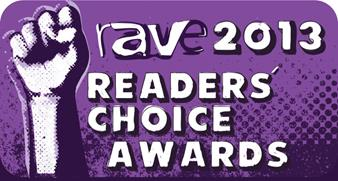 RAVE 2013 Readers' Choice award Logo
