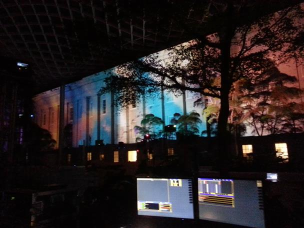 National Portrait Gallery Projection Mapping