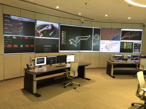 Emerson video wall