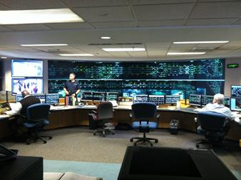 SEPTA Control Room - Barco Video Wall