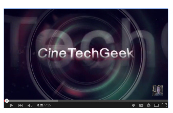 CineTechGeek intro