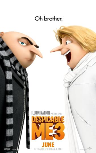 Despicable Me poster Auro sound
