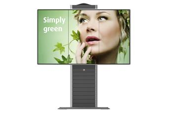 OBLX series OBPX 3x1 free-standing structure for LCD video walls