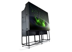 Rear-projection video walls