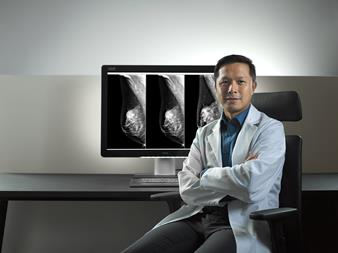 Barco's Coronis Uniti display with I-Luminate technology improves breast cancer detection probability by up to 30%