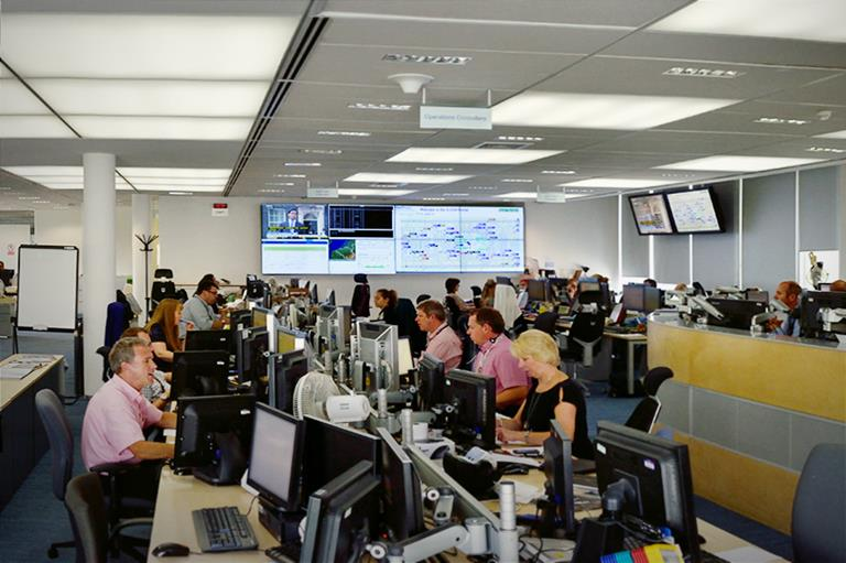 British Airways uses ClickShare at Crisis Management Centre