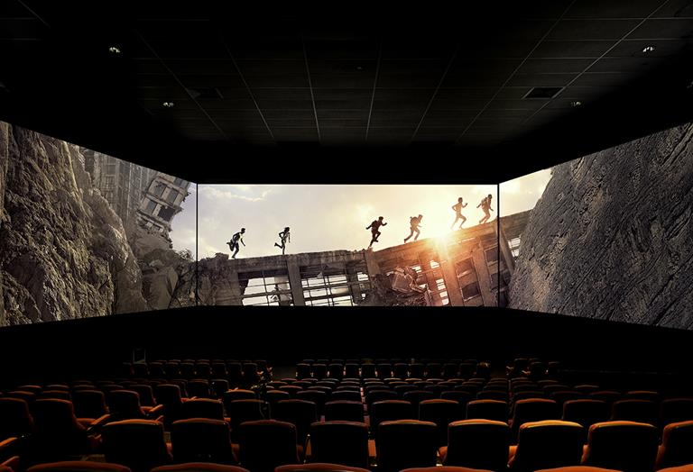 Barco Escape introduced at China Film Cinema Changping AEON Cineplex (China)