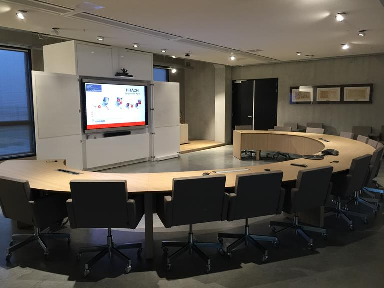 Improved meetings at Hitachi Data Systems Netherlands