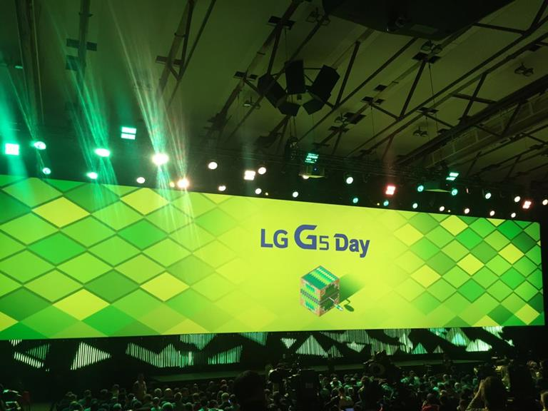 LG's G5 gets spectacular – Barco powered – launch at Mobile World Congress 2016