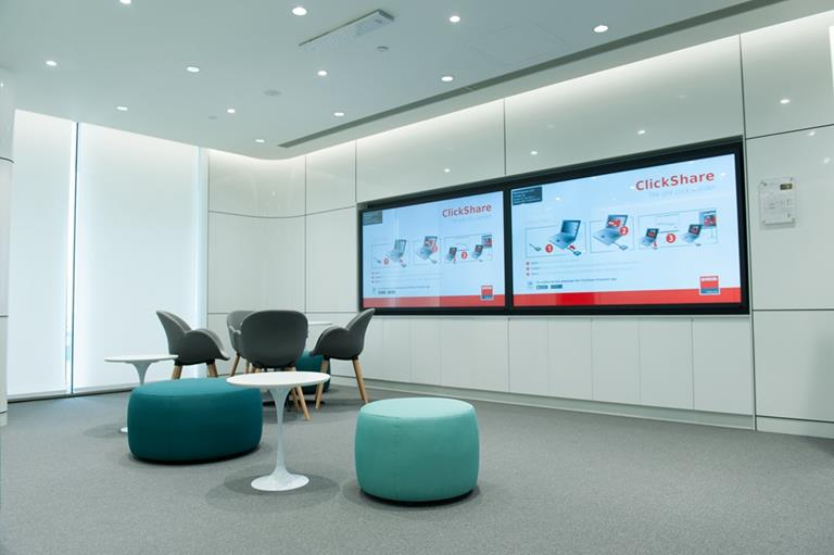 ClickShare deployment in GE China technology park perfectly interprets a smart choice for high-end office