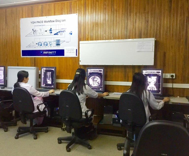 Yangon General Hospital relies on Barco as it leads the way in digital radiology diagnostics
