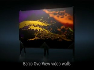 OverView series video walls - True colors for life