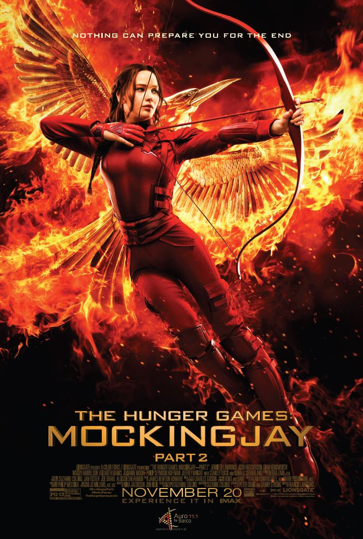 The Hunger Games - Mockingjay Part II mixed in Auro 11.1 immersive sound