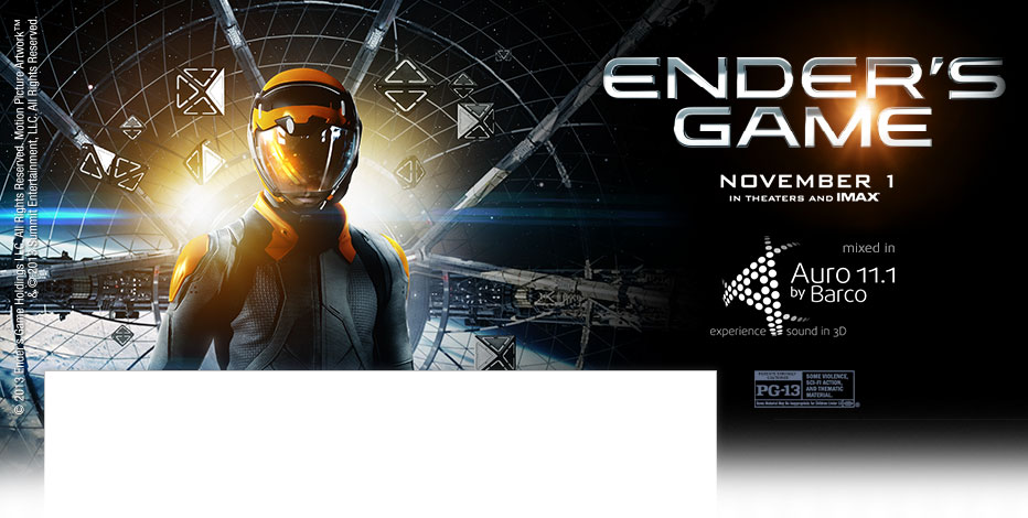 Ender's Game in Auro extended view