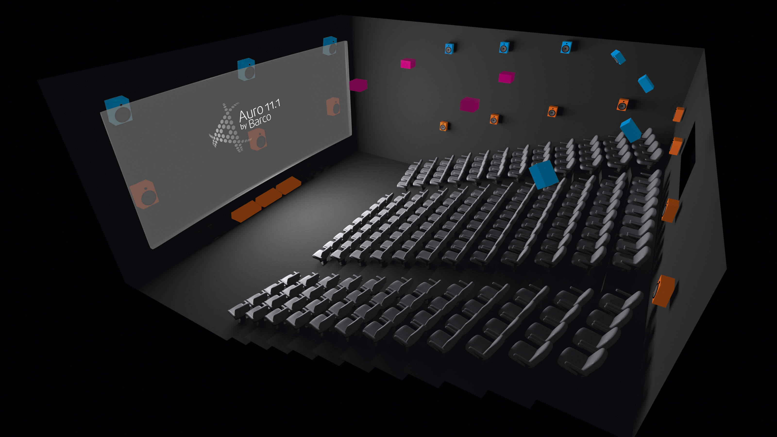 Qube Cinema Prepares Imbs For Auro 11 1 By Barco Immersive