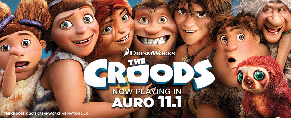 Now Playing The Croods In Barco S 3d Sound News Barco