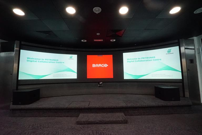 Barco solutions optimize Petronas Digital Collaboration Center