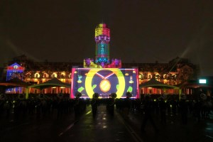 Barco projectors delivered spectacular light show for Taiwan's National Day