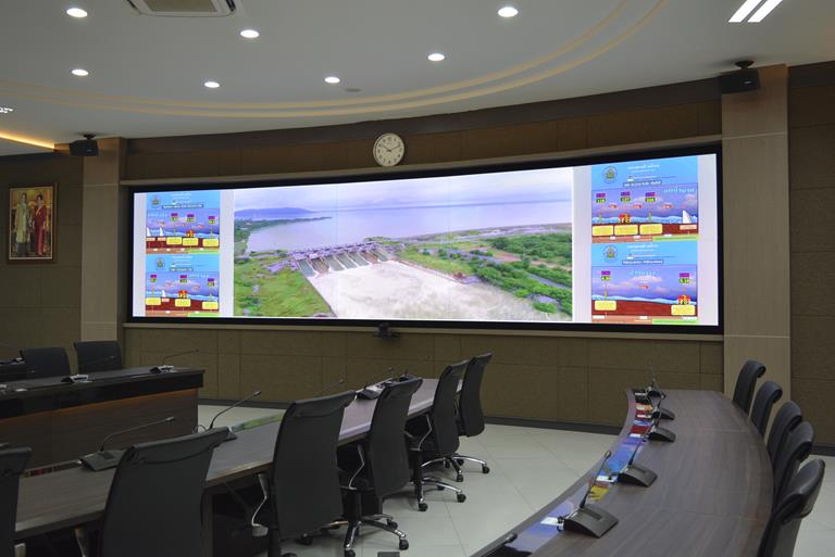 Smart Water Operation Centre now enjoys Barco screens that are awash with saturated colors and a deluge of crisp, bright images