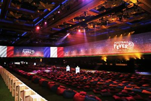 Barco projectors transform 360-degree ballroom at Resorts World Sentosa in Singapore
