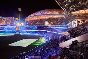 Barco brings SpongeBob to life at Adelaide Oval