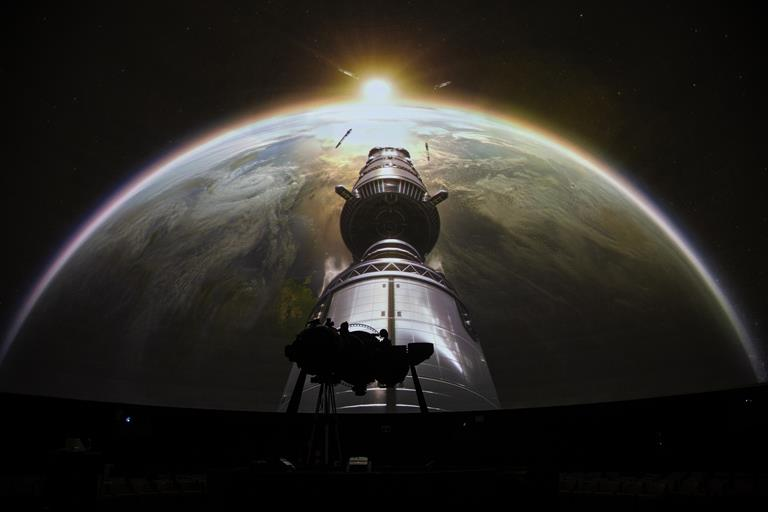 Brussels Planetarium offers stunning 360° view on the stars thanks to Barco and RSA Cosmos