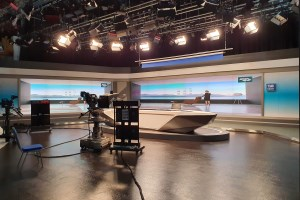 Barco enhances broadcasting experience for TJB News Studio with video wall solution and unique sensor technology