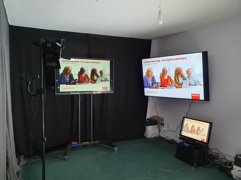 Remote top-class medical education with Barco's virtual classroom