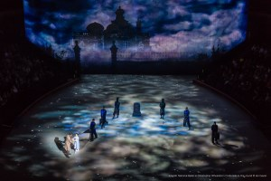 UDX projectors enhance in-the-round ballet