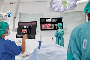 Barco surgical solutions in Varnamo Hospital, Sweden