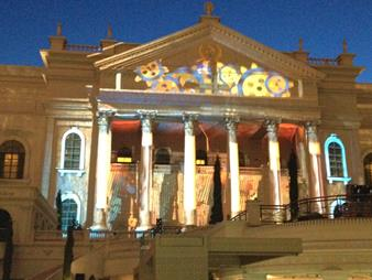 Barco Pixel Mapping at Caesars Palace
