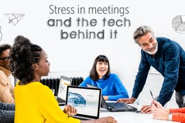 Meeting stress test infographic