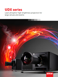 UDX large venue projectors