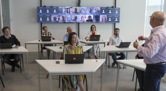 More Workplace Efficiency And Productivity With Barco S Visualization And Collaboration Solutions Barco