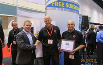 Barco honored with industry awards at InfoComm11