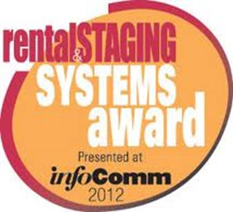 2012 Rental and Staging award logo