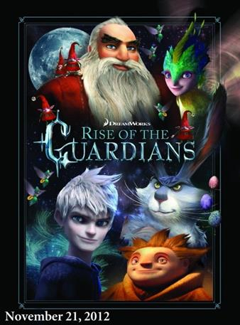 Rise of the Guardians poster