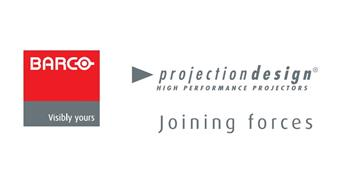 Barco and projectiondesign - joining forces