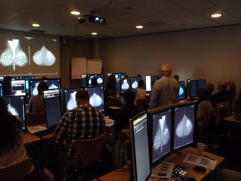 Professor László Tabár mammography screening courses