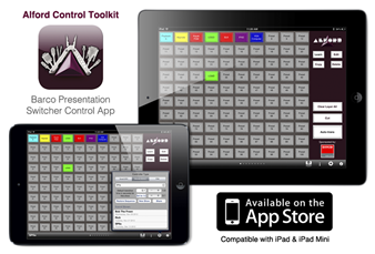 Alford Control Toolkit for Barco Presentation Switchers