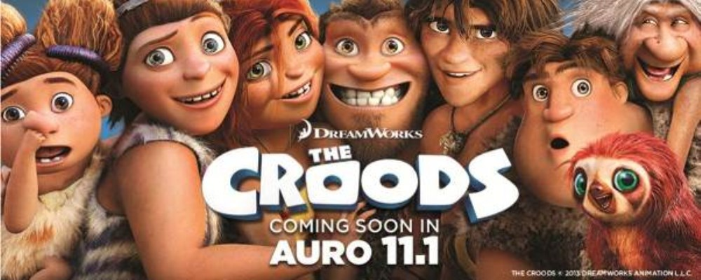 The Croods' by DreamWorks Animation premièred in Auro 11 1