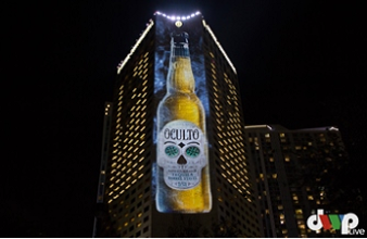 Anheuser-Busch Oculto Projection Mapping
