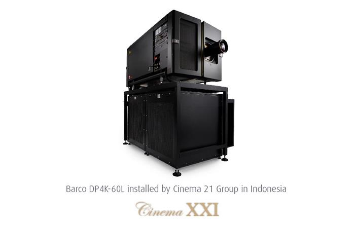 Barco and cinema 21 group bring laser projection to indonesia and barco and cinema 21 group the largest exhibition and distribution giant in indonesia are bringing laser projection to asia pacific stopboris Choice Image