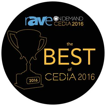 2016 CEDIA rave Best Award_Image
