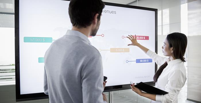 Have A Bigger Impact In The Meeting Room Use Touchback Barco