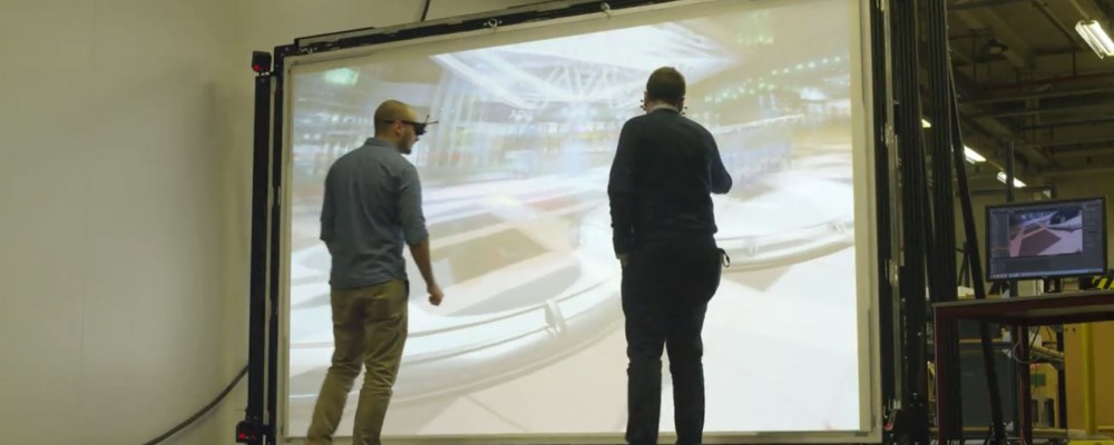 VIDEO: Dual Eye Point technology allows tracking 2 people's 3D
