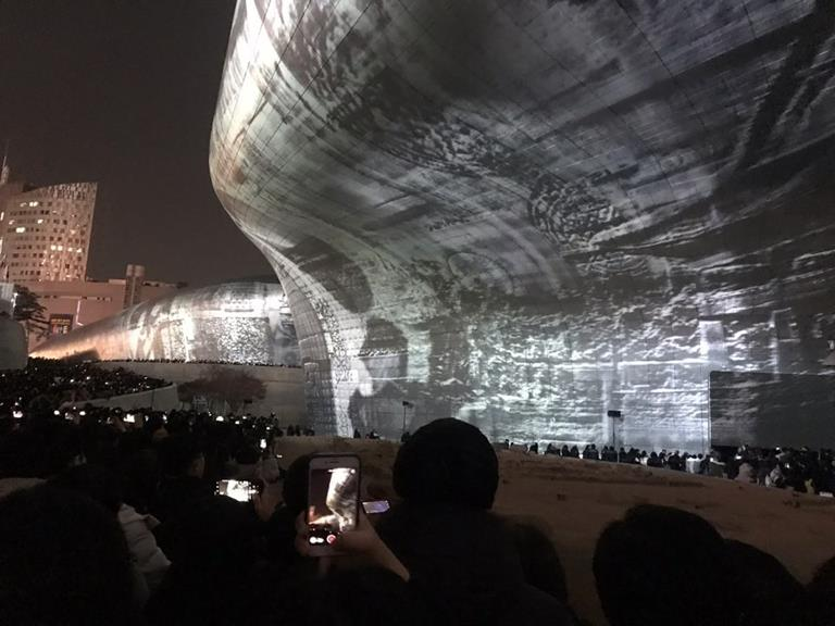 Barco projectors power visual splendor at Seoul Light